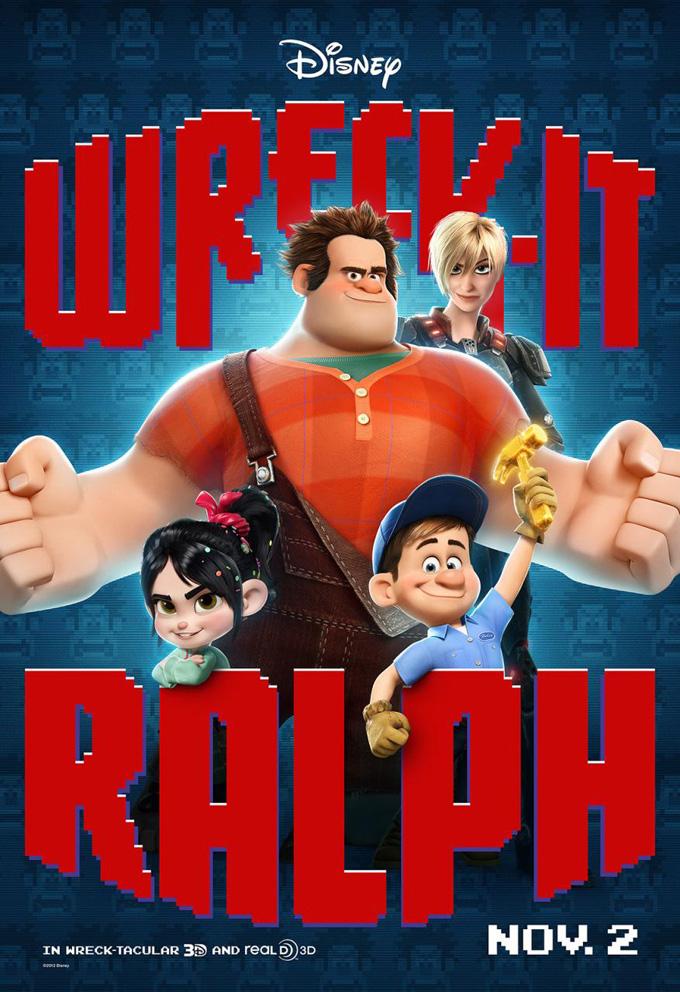 Wreck-It-Ralph Poster