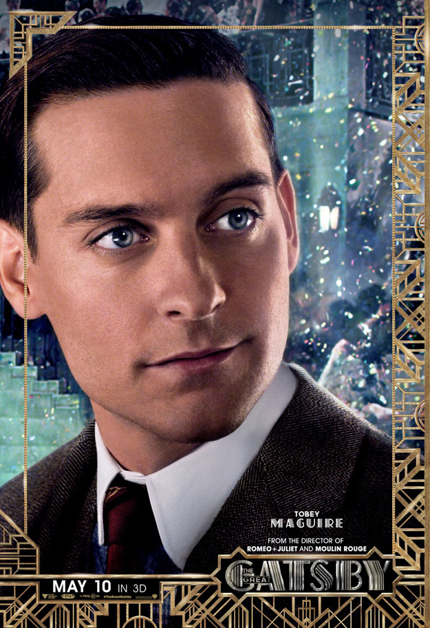 Gatsby Character poster, Tobey Maguire (skip)