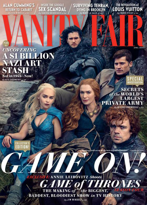 Game Of Thrones, Vanity fair