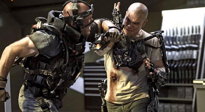 Elysium, Matt Damon