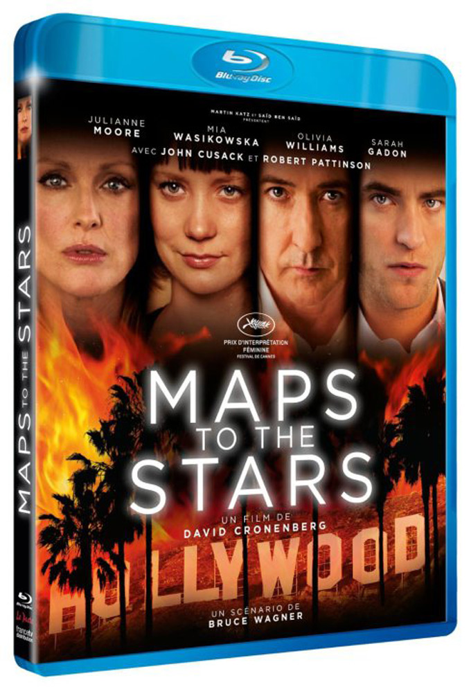 Maps To The Stars, Dvd cover