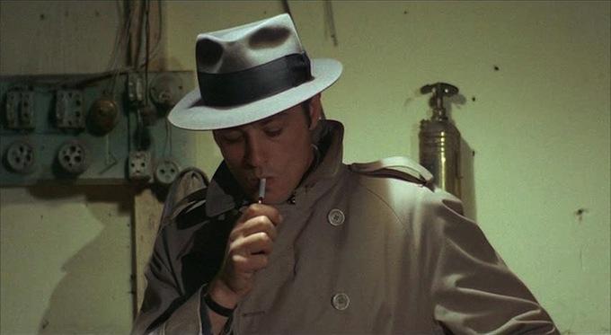 """Alain Delon in """"Le Samourai"""""""