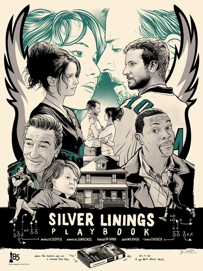 Silver Linings Playbook Poster