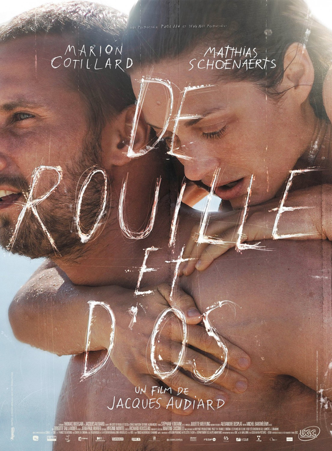 """Rust & Bone"" French poster"