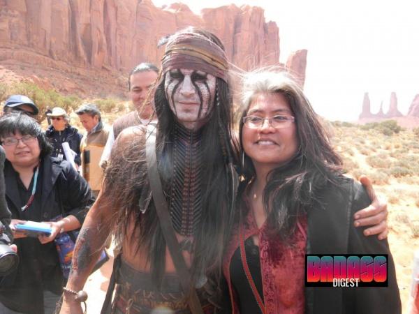 Johnny Depp Lone Ranger Set