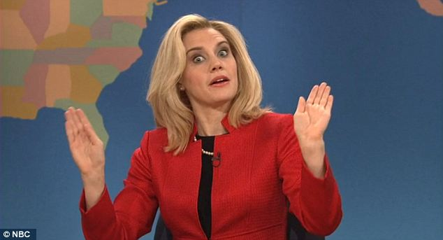"Kate McKinnon as Ann Romney on ""SNL"""