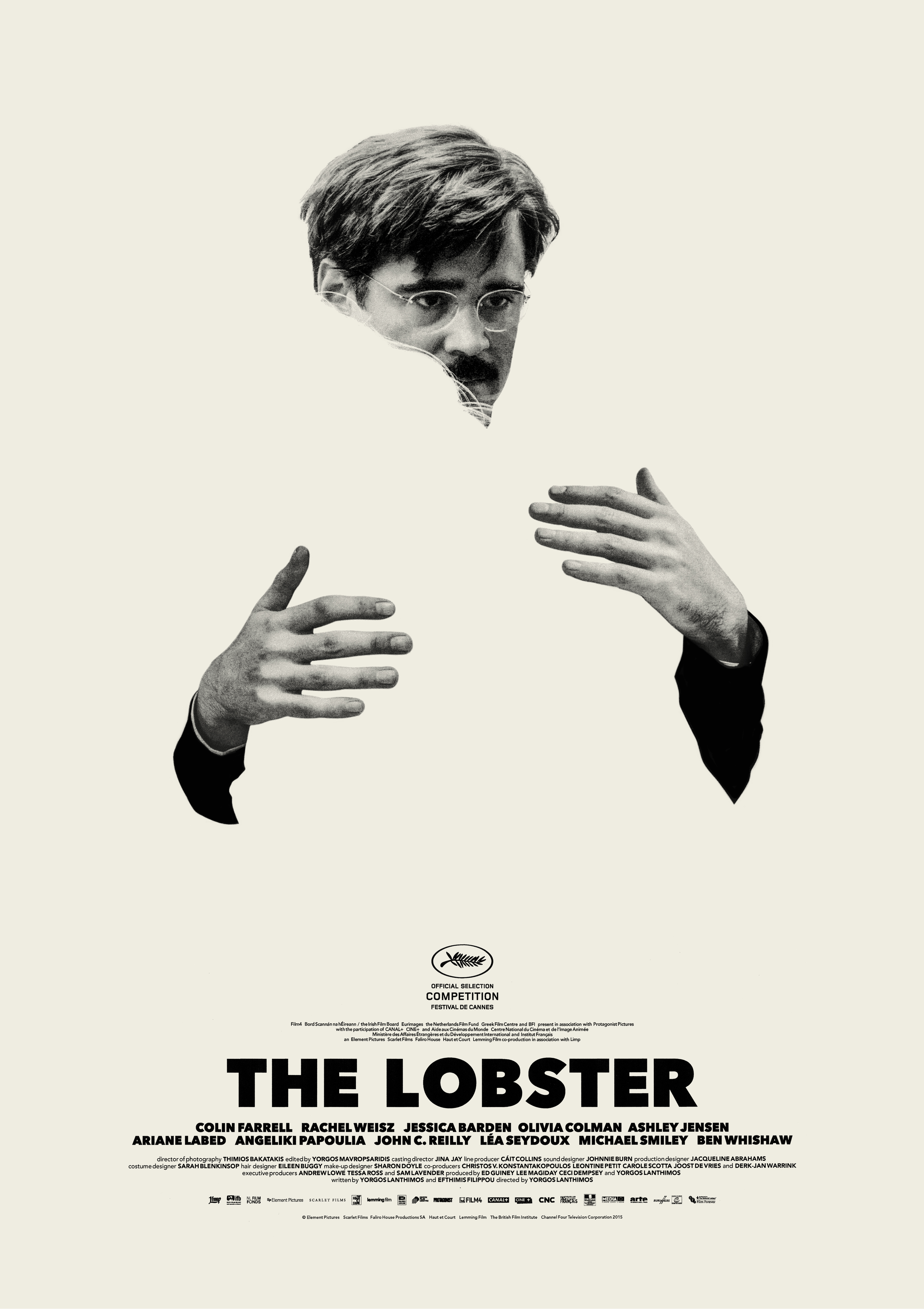 "Colin Farrell in ""The Lobster"""