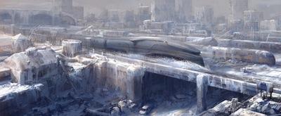 """""""Snowpiercer"""" Art"""