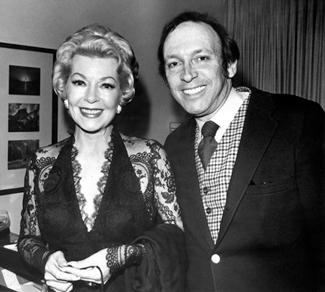 Lana Turner with Marvin