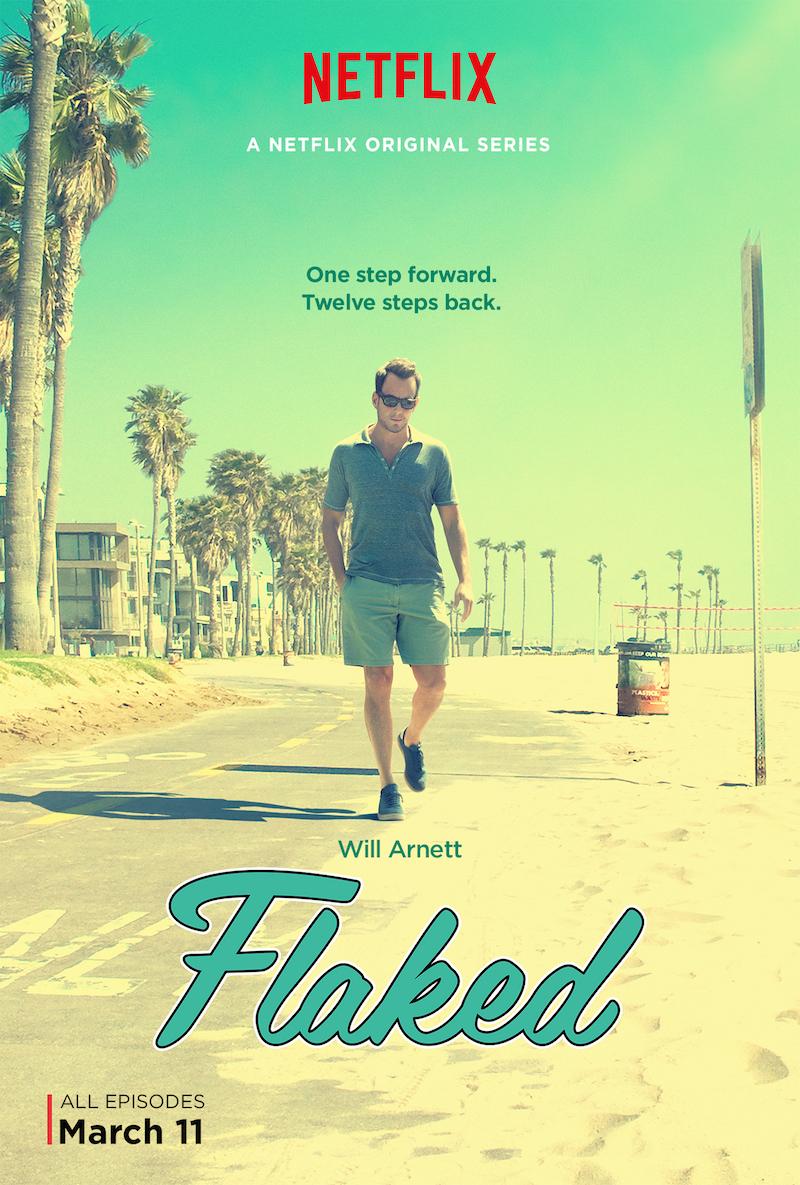 """""""Flaked"""" Will Arnett Poster"""