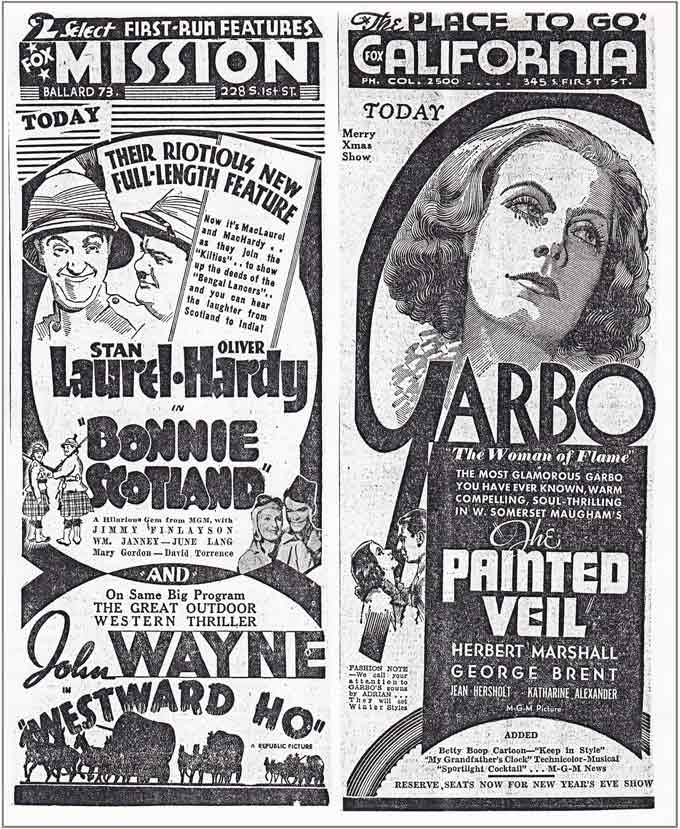 Throwback Thursday-Garbo-John Wayne-Laurel&Hardy