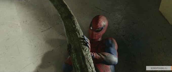 The Amazing Spider-Man lizard tail skip crop