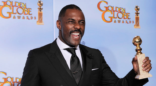 Idris Elba at the 2012 Golden Globes