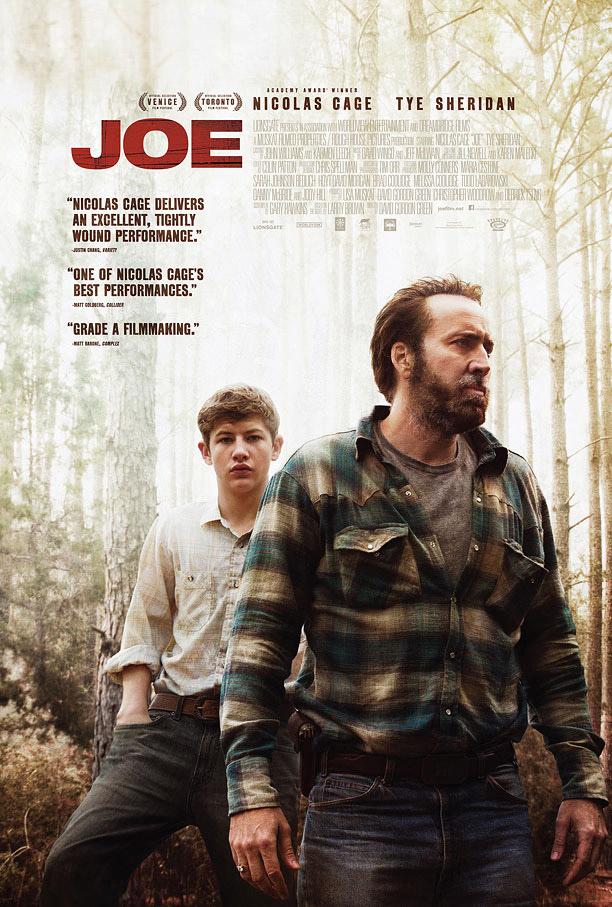 Joe, Nicolas Cage, poster