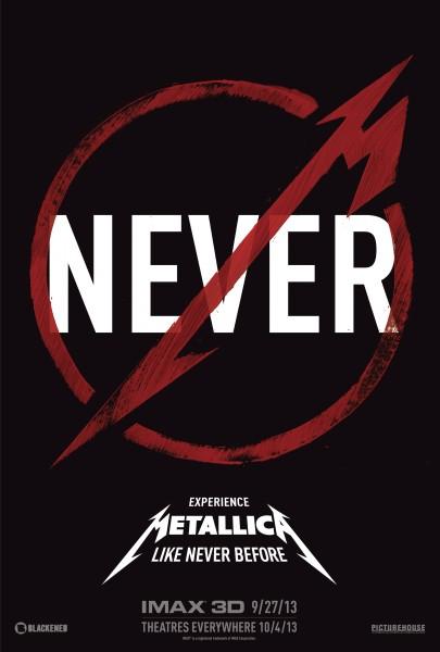 'Metallica Through The Never' poster