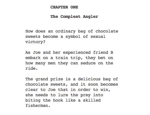 Nymphomaniac Chapter One Excerpt (Skip Crop)