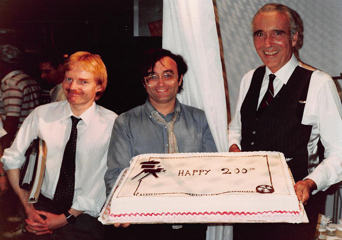 Mike Finnell-Joe Dante-Christopher Lee