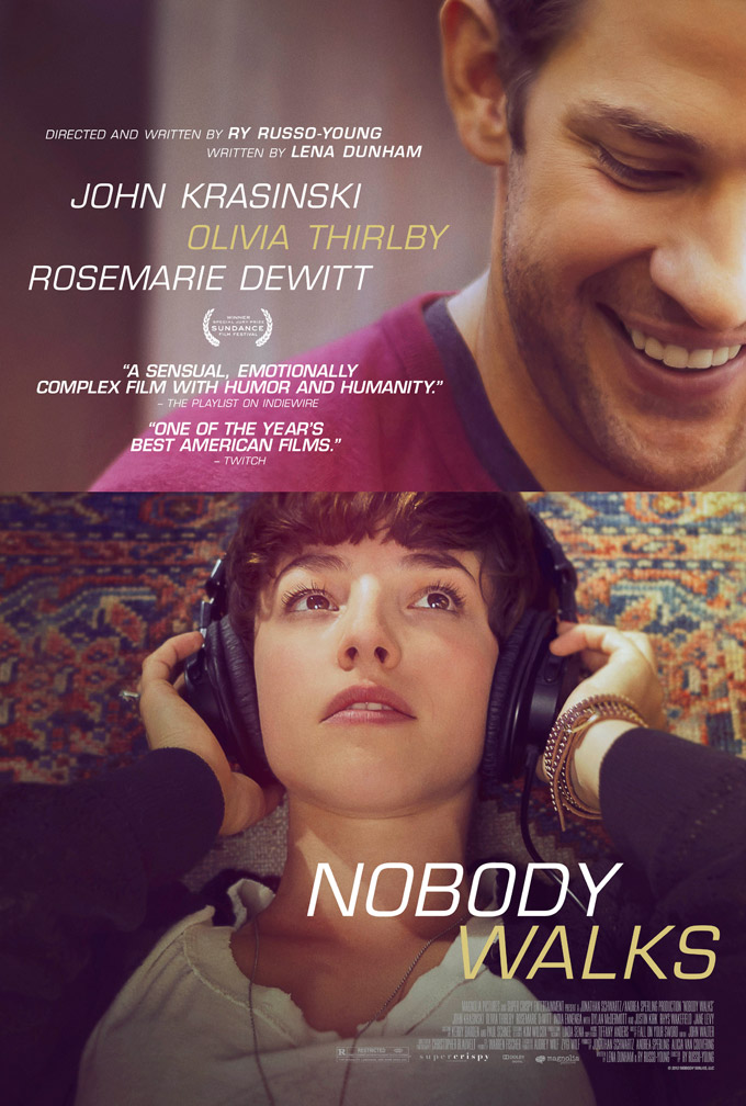 Nobody Walks, poster exclusive (skip crop)