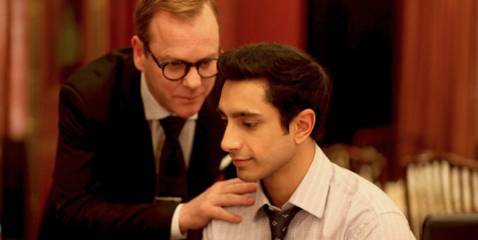 The Reluctant Fundamentalist Riz Ahmed Kiefer Sutherland skip crop