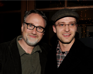 David Fincher and Justin Timberlake