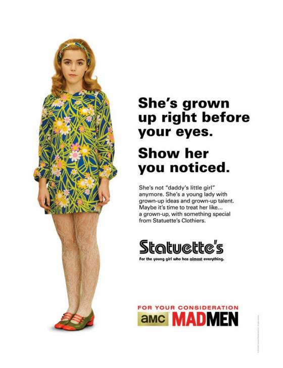 "Kiernan Shipka ""For Your Consideration"" Poster"