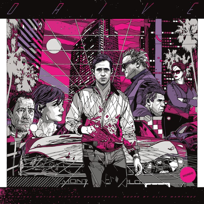 Drive soundtrack artwork skip