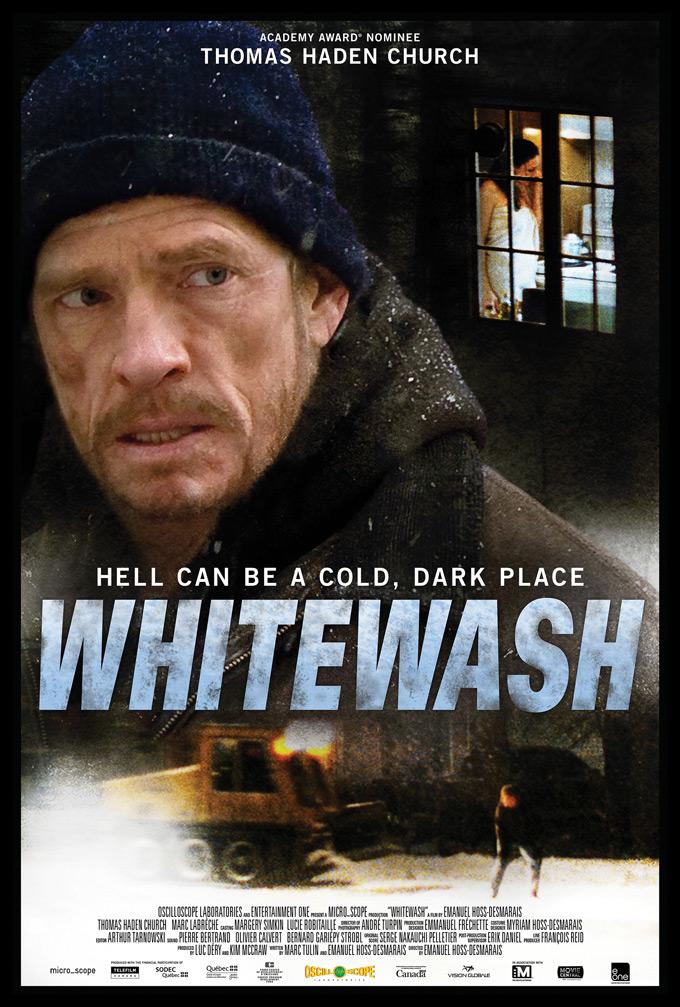 Whitewash, poster