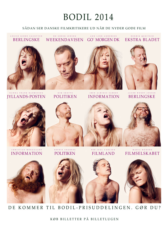 Nymphomaniac Danish Critics Poster
