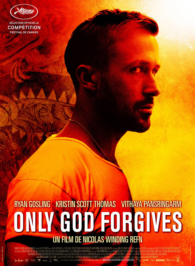 Only God Forgives French Poster