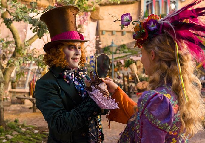New Movie: Alice Through the Looking Glass (Starring Mia Wasikowska & Johnny Depp) Trailer