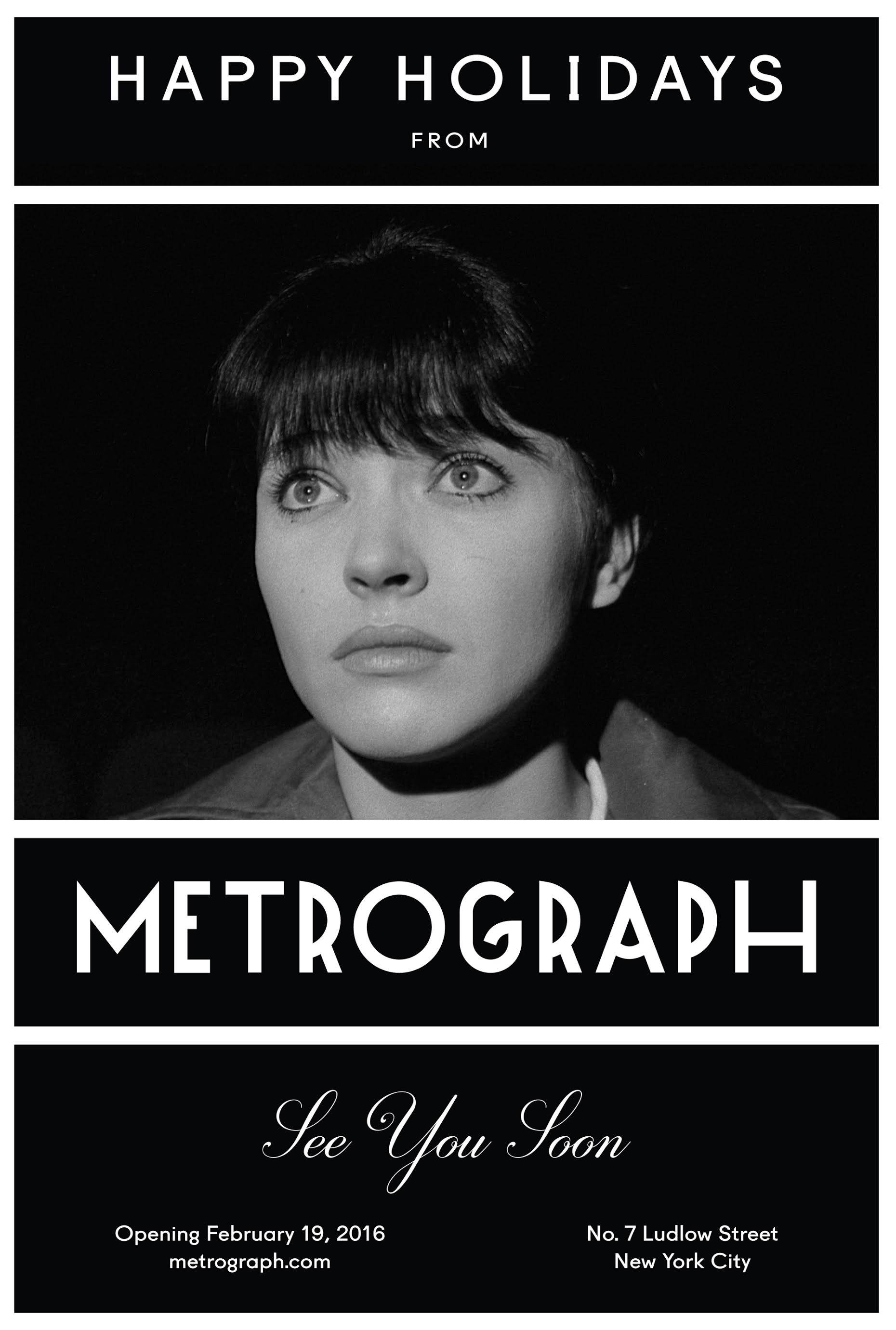 Metrograph Holiday Card