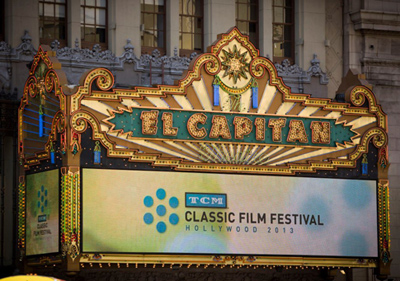The TCM Classic Film Festival found an ideal new home for some of its presentations: Disney's El Capitan Theatre