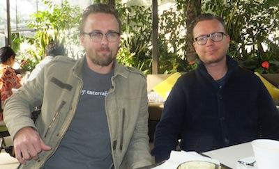 Directors of 'Kon Tiki' Joachim Roenning and Espen Sandberg