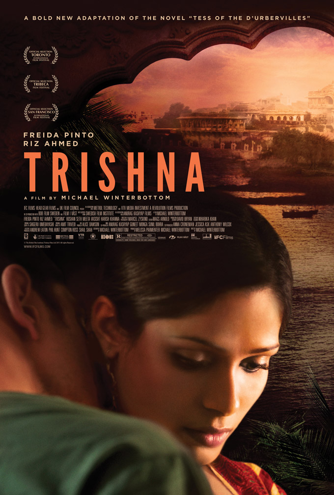 Trishna Domestic Poster