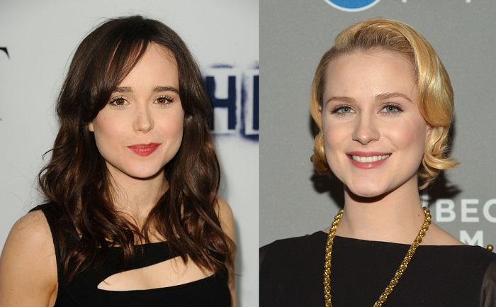 Ellen Page and Evan Rachel Wood