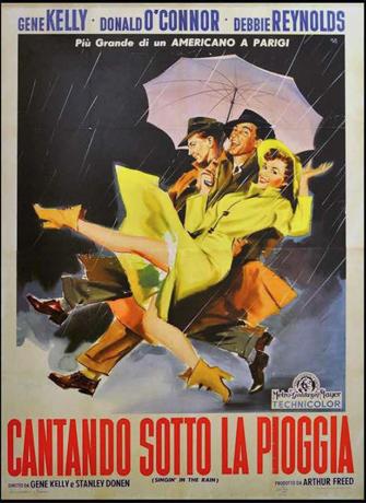 Italian poster Singin' in the Rain