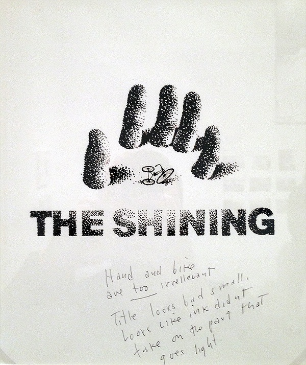 Shining Saul Bass poster design 1