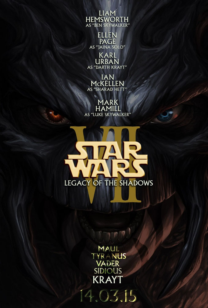 Star Wars Episode 7 Fan Poster