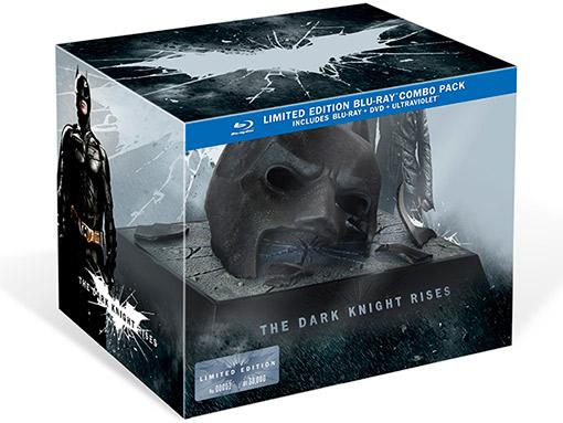 Dark Knight Rises Blu-ray Packaging
