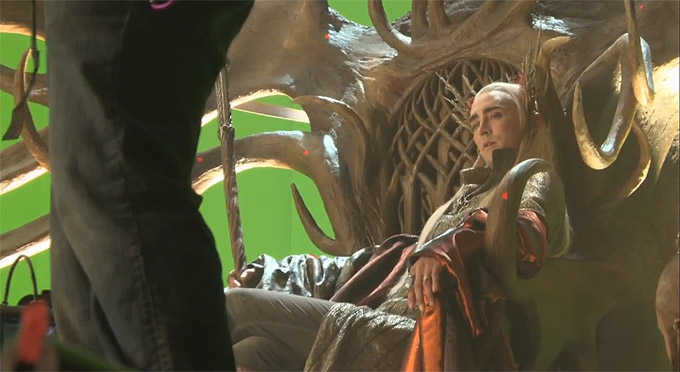 Lee Pace, The Desolation Of Smaug, Behind The Scenes