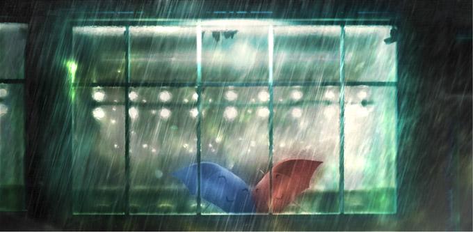 Blue Umbrella Test 2 (skip crop)