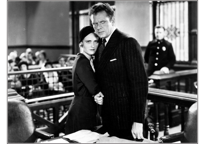 """Lois Moran and Charles Bickford in """"Men in Her Life"""" (1931)"""