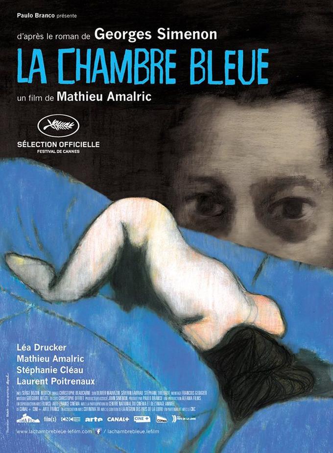 La Chambre Bleue, poster
