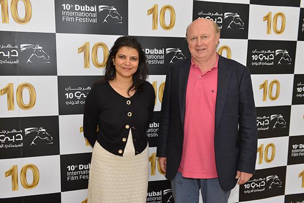 Shivani Pandya (DIFF managing director) and Marc Bonduel