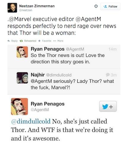 Marvel tweet