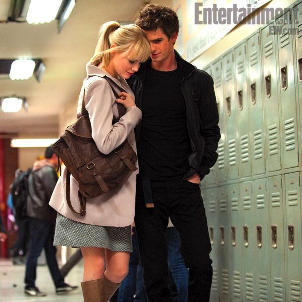 Amazing Spider-Man Emma Stone Andrew Garfield skip crop