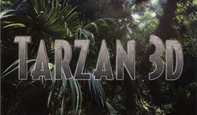 Tarzan 3D Logo skip crop