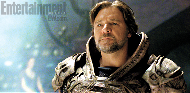 Man Of Steel, Russell Crowe (skip crop)