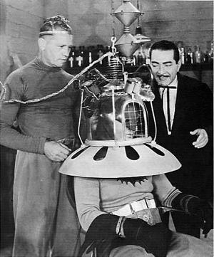 J. Carroll Naish as Dr. Tito in Batman 1943 Columbia Serial