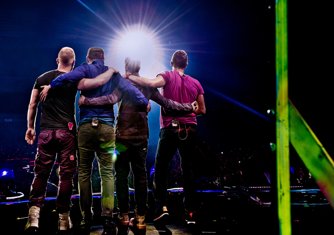 Review: 'Coldplay Live 2012' Endearingly Captures The